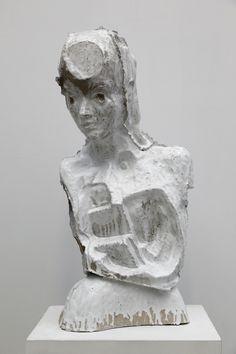 Johan Tahon, CIRCULAR SONG fig, glazed ceramic 2014