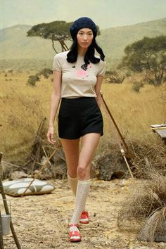 A Wes Anderson-Inspired Collection We're Crushing Over Hard #refinery29  http://www.refinery29.com/orla-kiely#slide-19