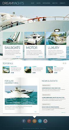 Yachting Blog Drupal Template #website http://www.templatemonster.com/drupal-themes/44697.html?utm_source=pinterest&utm_medium=timeline&utm_campaign=yacht