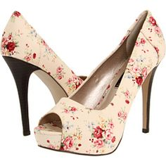 .Love the flower pattern even though I couldn't do the heel!