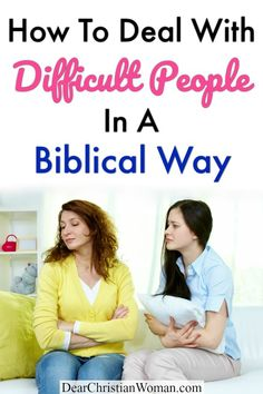 We will all have difficult people in our lives. People who have a toxic influence in our lives and like to stir up drama and unhappiness. Here are several tips on how to deal with difficult people. Christian Friends, Christian Women, Health Advice, Life Advice, Dealing With Difficult People, Unhappiness, Toxic People, Spiritual Growth, Self Development