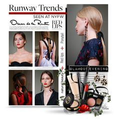"""Runway Trend : Oscar De La Renta"" by thewondersoffashion ❤ liked on Polyvore featuring beauty, Oscar de la Renta, MAC Cosmetics, Chanel, H&M, NARS Cosmetics, Gucci, NYFW, Beauty and oscardelarenta"