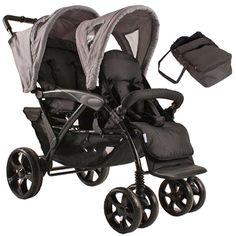 Wózek spacerowy KEES TANDEM DELUXE z jedną gondolą - BoboWózki Tandem, Baby Strollers, Children, Baby Prams, Young Children, Boys, Kids, Prams, Tandem Bikes