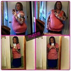 """Christina says: """"I am down 4 pants/skirt/shirt sizes. I am down 2 bra/1 cup size. I am down 4 undies sizes. I am mobile, active, happy, have natural energy, sleep like a brick, lower BP, no longer pre diabetic and so so so much more. If you are TRULY ready to change how you feel.... it's not about weight loss! It's about regulating your blood sugars, helping you sleep better, clearer skin. I don't have acid reflux or pain in my knees and back. I can go on and on."""""""