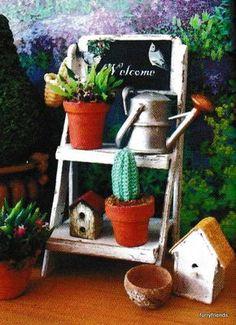 tutorial: miniature plant stand