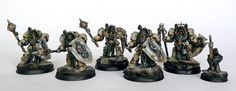 Tale of Painters: Showcase: Dark Angels Deathwing Knights