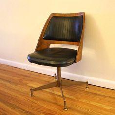 mid century swivel chair - Google Search