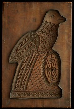 Thomas Collection - Eagle with Shield. American, 19th C. Cherry wood.
