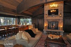 The Lodge Mont-Tremblant is a luxury estate available for vacation rental in Mont-Tremblant