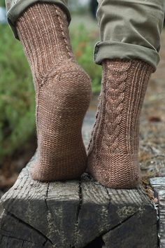 Ravelry: Spiny Socks pattern by Fatimah Hinds