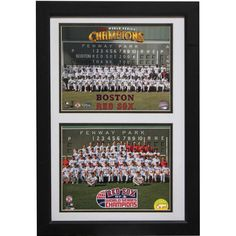 Encore Select Boston Sox Champions 12 x 18 Double Frame