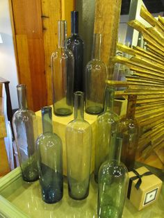 Mix and Match in your space with these glass bottles!