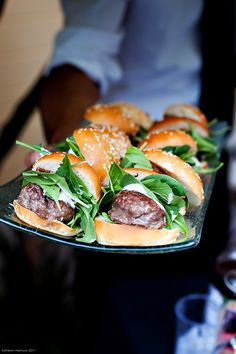 Kobe Beef Sliders~Omy ding ding ding~Have not tried but it HAS to be a winner!