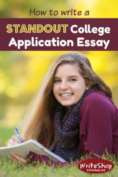 How to write a standout college application essay Students need to write a college application essay using a strong thesis statement, active voice, and concrete, vivid word pictures. College Costs, Online College, College Hacks, College Fun, College Success, College Admission Essay, College Essay, School Essay, College Majors