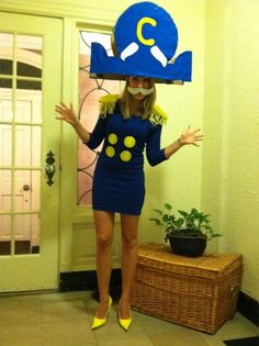 diy captain crunch halloween costume - Captain Crunch Halloween