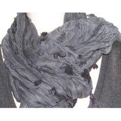 Bershka dámský šátek černo šedý univerzální; scarf gray Accessories, Fashion, Moda, Fashion Styles, Fasion, Ornament