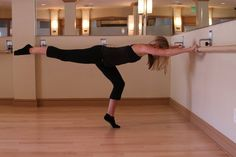 1. The Fold Over: For a long, tight butt, lean legs and strong abdominals, make an L shape with your body and lift your lower leg. Do ten lifts full range and 20 small lifts keeping your leg parallel to the ground on each leg. Source: Lindsey Arotin (Model: Chelsea Kruse)