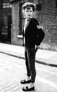 teddy girl; I wish people still dressed like this.