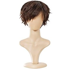 Ecvtop Wigs for Mens Death Note Male Short Cosplay Wigs Light Brown -- Be sure to check out this awesome product.
