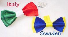 ITALYvsSPAIN football bow ties by BETOLLI #FIFA2016