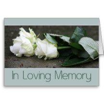 In Loving Memory/Celebration of Life Invitation Greeting Cards