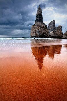 ღღ I So want to see this!!!   Cabo de Roca, Portugal     The Needle by Evgeni Dinev, via Flickr