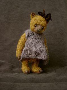 Isa, One Of a Kind Girl Bear from Aerlinn Bears