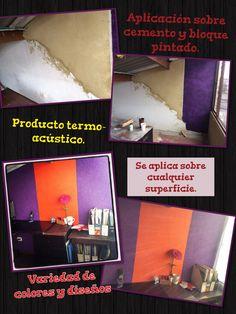 Aplicación de producto ecológico en paredes. Info: (57) 3123407766
