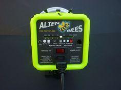 AlienBees Alien Bees B800 800 Studio Flash by Paul C. Buff Neon Green  #PaulCBuff