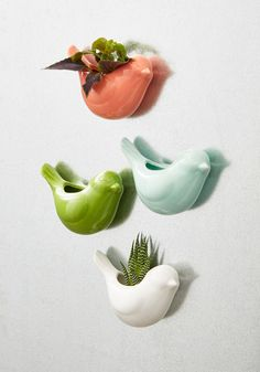 Sparrow the Seeds Magnetic Planter Set, @ModCloth