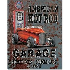 Legends - American Hot Rod Metal Tin Sign , 12x16 by Poster Discount, http://www.amazon.com/dp/B002TMNM7A/ref=cm_sw_r_pi_dp_bpqBqb0P8BQTN