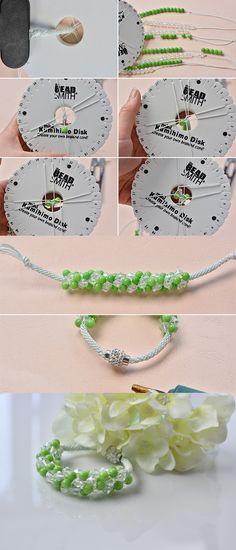 Beautiful bracelet, like it? Then LC.Pandahall.com will publish the tutorial soon.