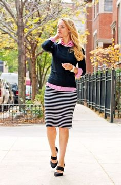 Preppy Looks For Fall To Copy Right Now (9)