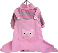 Animal Dog Pajamas - Pig