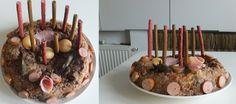 Nádivkový dort pro pejska.