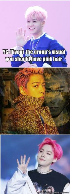 "Pink Monsters Level : YG~ (Sechskies, Bigbang and Winner) :"">"