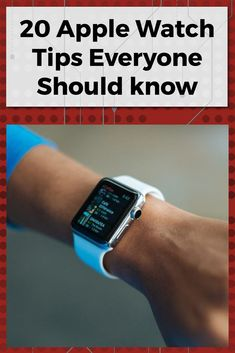 20 Tips Every Apple Watch Owner Should Know Below are 20 quick tips for Apple Watch owners, whether you just ordered the Series 5 or have owned an Apple smartwatch for years. Apple Watch Hacks, Best Apple Watch Apps, Apple Watch 3, Apple Watch Series 3, Apple Smartwatch, Apple Watch Features, Iphone Watch, Apple Watch Wallpaper, Apple Products