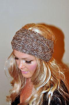 Ear Warmer Crochet Headband Head wrap Earwarmer CHOOSE by lucymir