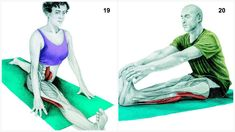 Full Body Stretching Exercises – 34 Best Stretching Exercises in Flexibility Routine Best Stretching Exercises, Muscle Stretches, Calf Stretches, Best Stretches, Flexibility Routine, Sore Shoulder, Psoas Release, Latissimus Dorsi, Workout Challenge
