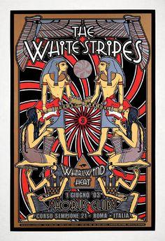 white stripes poster - Google Search