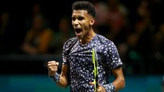 Auger-Aliassime Rublev advance in Rotterdam  12:24 PM ET  Second seed Stefanos Tsitsipas clawed his way back from a set and a break down to beat Polands Hubert Hurkacz 6-7(2) 6-3 6-1 and reach the last-16 of the Rotterdam Open on Tuesday.  Canadian teenager Felix Auger-Aliassime outlasted Germanys Jan-Lennard Struff to win 6-3 1-6 6-3 and advance while Italys Fabio Fognini was upset 6-3 6-3 by Russias Karen Khachanov.  Tsitsipas reacted well to going 2-0 down in the second set fighting back…