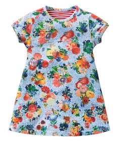 Look what I found on #zulily! Blue Tjint Dress - Toddler & Girls by Oilily #zulilyfinds
