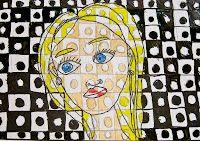 Kid'folio: Chuck Close Self-Portraits