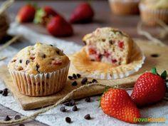 Muffin Fragole e Cioccolato  #ricette #food #recipes