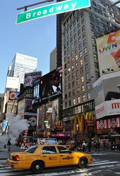 NYC Times Square ~ Broadway!
