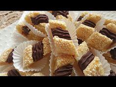 حلوة الساقية باللوز سهلة التحضير وروعة فالمذاق - YouTube Arabic Food, No Cook Meals, Biscuits, Cheesecake, Dessert Recipes, Cooking Recipes, Cookies, Breakfast, Fitness