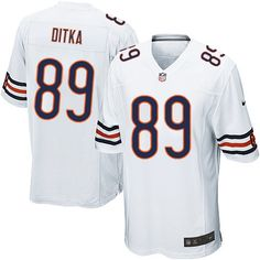 Bears 22 Matt Forte Nike Game Jersey Away White 7660a01fb