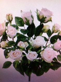 Silk stem chan silk flowers keira rose garden pinterest gardens silk pink rose bush mightylinksfo