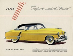 1952 Olds Holiday 88 Coupe
