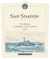 San Simeon 2010 Estate Reserve Cabernet Sauvignon (Paso Robles) Rating and Review   Wine Enthusiast Magazine